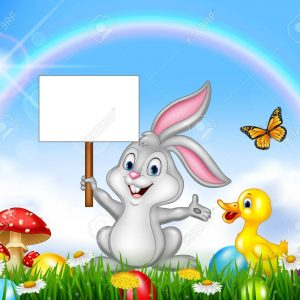 74096516-happy-little-bunny-holding-blank-sign-with-easter-background
